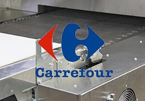 Линия выпечки лаваша установлена в супермаркете Carrefour
