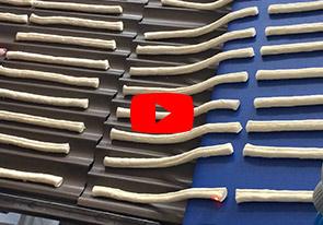 Линия для производства хлебных палочек гриссини и таралли - foto №3404