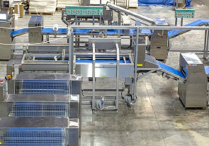 Launch of the new automatic line for puff pastry production manufactured by UTF-GROUP