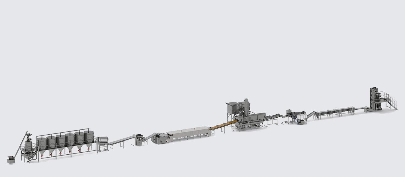Автоматическая линия для производства начос - foto №2