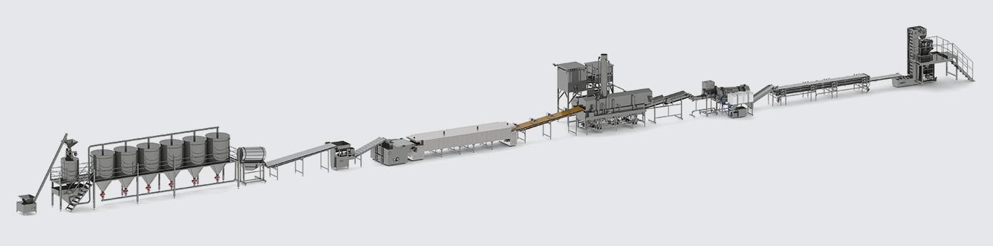 Автоматическая линия для производства начос - foto №6