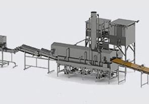 Автоматическая линия для производства начос - foto №3992