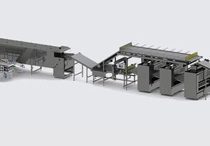 Автоматическая линия для производства протеиновых чипсов - foto №3993