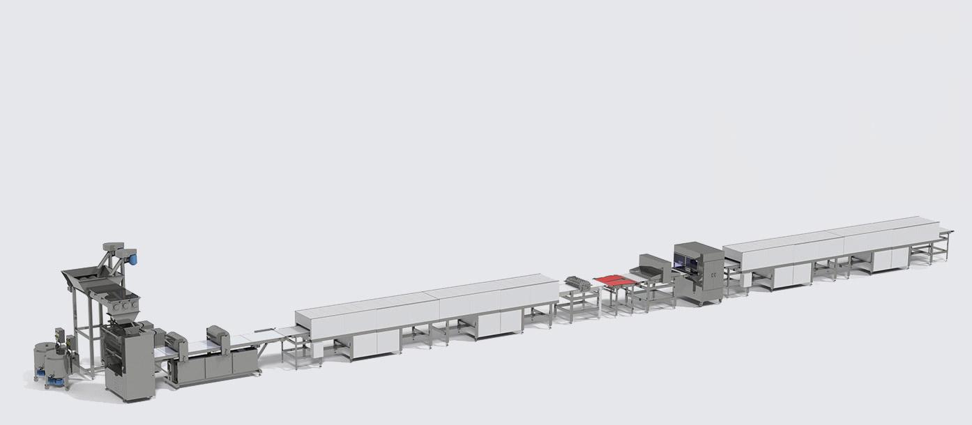 Автоматична лінія для виробництва зернових батончиків - foto №2