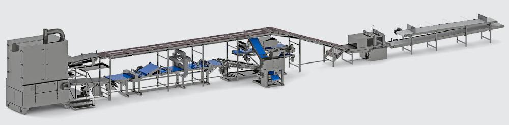 Автоматична лінія для виробництва гарнійского лаваша - foto №3