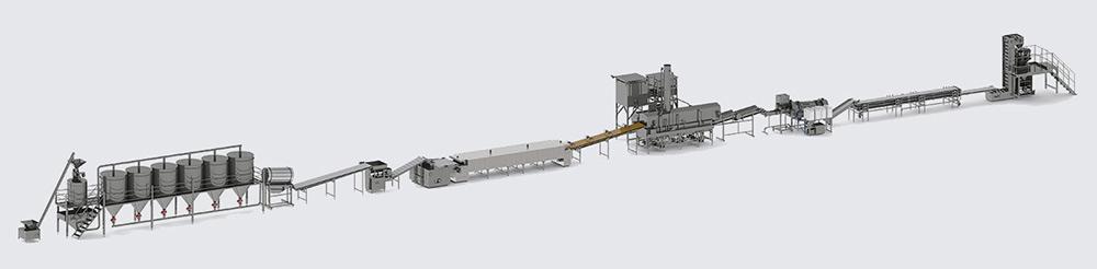 Автоматическая линия для производства начос - foto №3