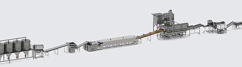Автоматическая линия для производства начос - foto №4
