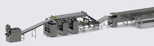 Автоматична лінія для виробництва протеїнових чіпсів - foto №4