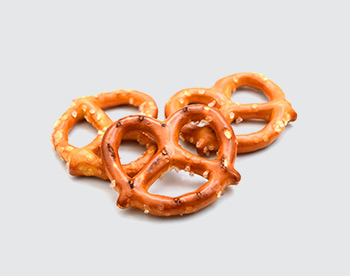 Line for pretzel and extrusion snecks production, Pretzels - foto №1