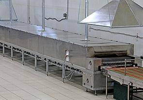 Туннельная печь— ключевая часть автоматизированного производства лаваша