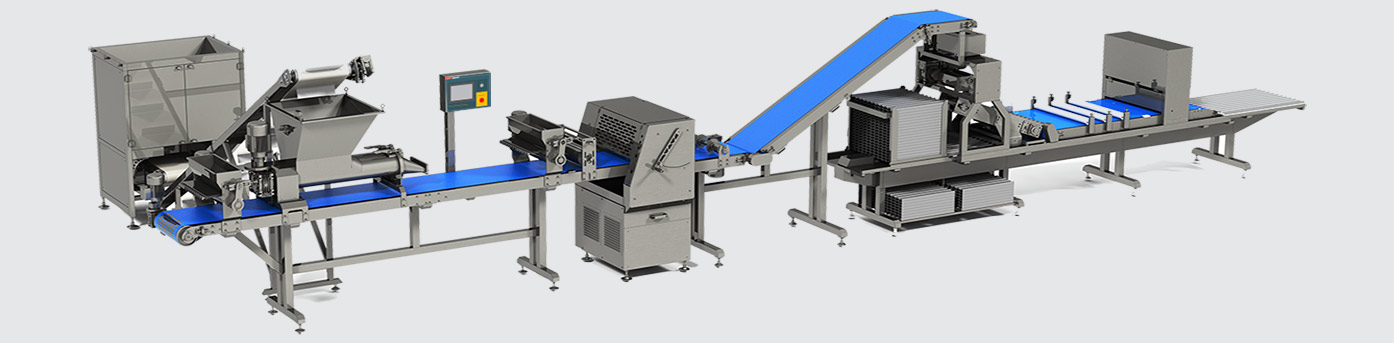 Grissini production line with stacking on deco - foto №3