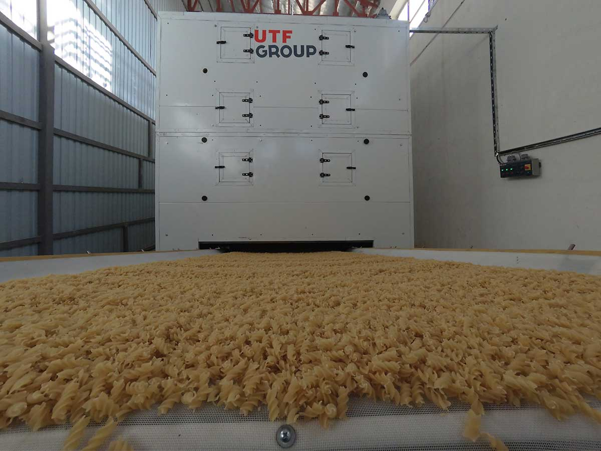 A 500 kg/h pasta line was launched in Afghanistan. - foto №4772
