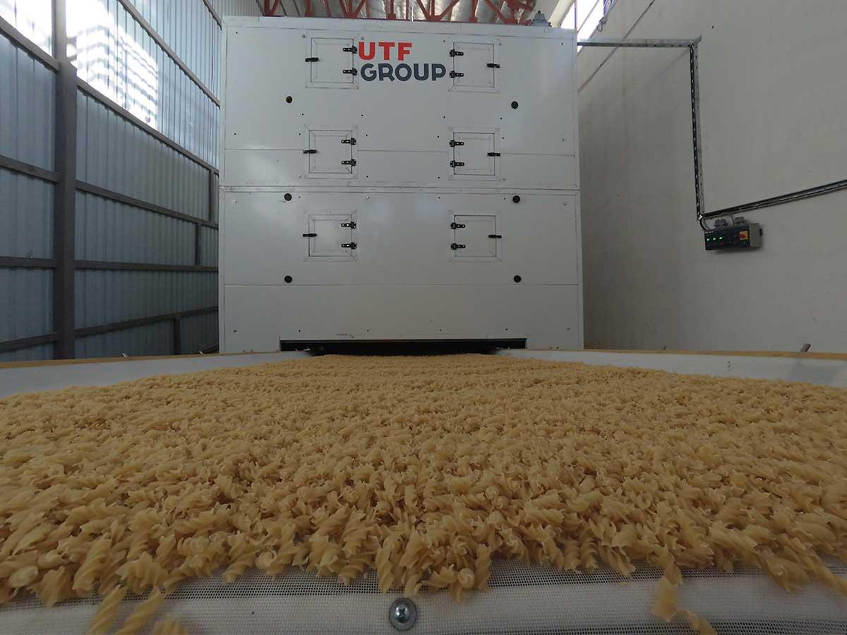 Макаронная линия производительностью 500 кг/ч запущена в Афганистане