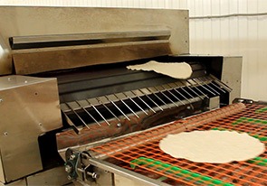 Launch of a line for the production of lavash with a capacity of 300 kg/h in Kremenchug