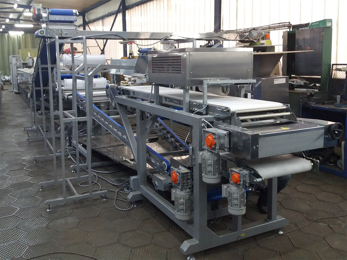 An automatic line of lavash with a capacity of 200 kg/h was produced. #0
