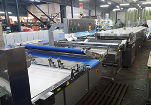 An automatic line of lavash with a capacity of 200 kg/h was produced.