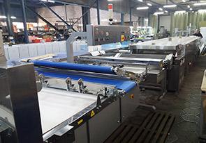 Изготовлена автоматическая линия лаваша производительностью 200 кг/ч