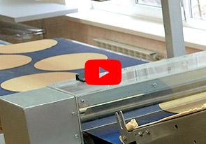 Линия для производства заготовок коржей тортов производительностью 150 кг/ч - foto №5427